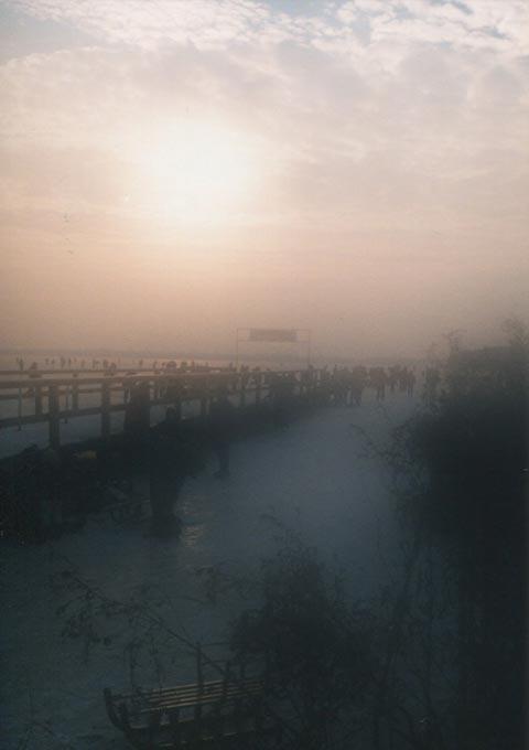 Nebel und Wasser