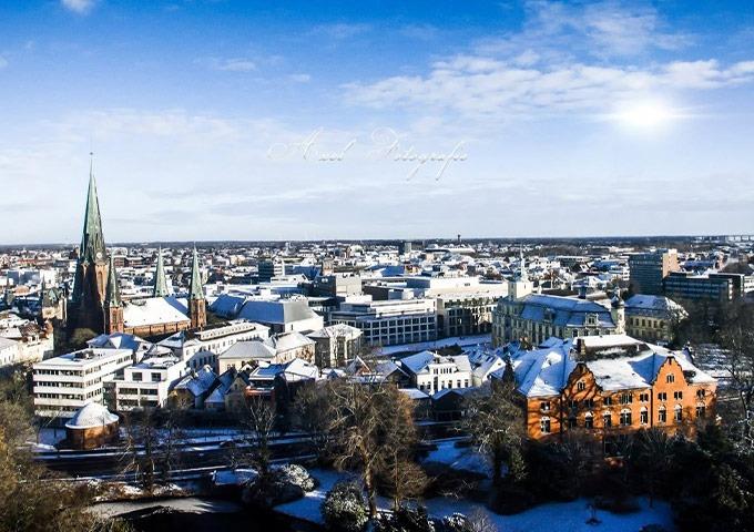 Oldenburg Panorama Winter