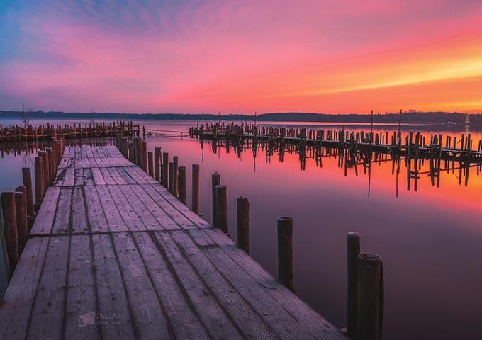 Sonnenaufgang in Bad Zwischenahn