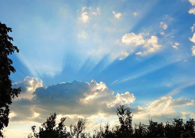 Wolken in Grossenkneten